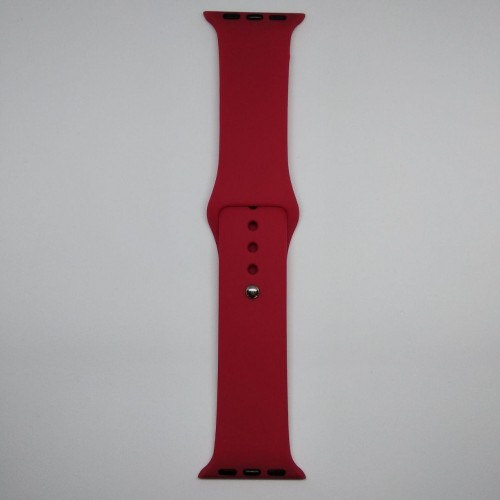 Ремешок Apple Watch 38mm M/L silicone Cherry