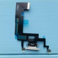 Шлейф Apple iPhone XR коннектора зарядки White