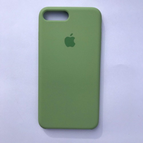 Чехол Silicone Case для Apple iPhone 7 Plus, 8 Plus Mint Green
