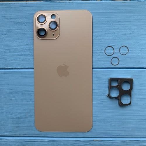 Задняя панель корпуса Apple iPhone 11 Pro Gold
