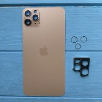 Задняя панель корпуса Apple iPhone 11 Pro Max Gold