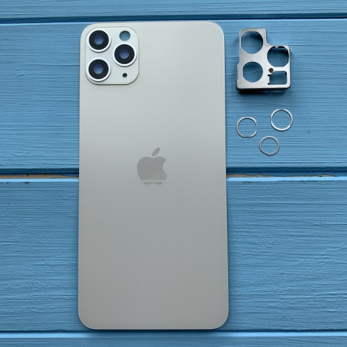 Задняя панель корпуса Apple iPhone 11 Pro Max Silver