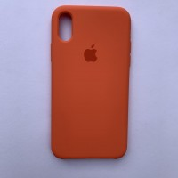 Чехол Silicone Case для Apple iPhone X, XS Apricot Orange