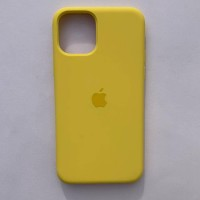 Чехол Silicone Case для Apple iPhone 11 Pro Max Canary Yellow + кабель Foxconn Lightning