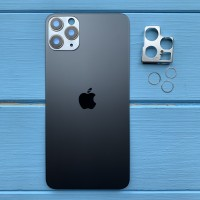Задняя панель корпуса Apple iPhone 11 Pro Max Space Gray