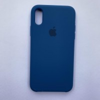 Чехол Silicone Case для Apple iPhone X, XS Ocean Blue