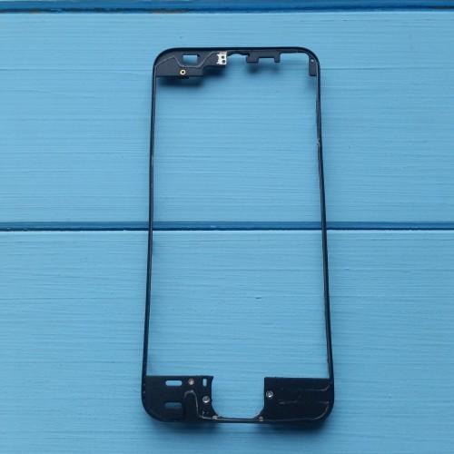 Рамка крепления дисплейного модуля Apple iPhone 5S Black