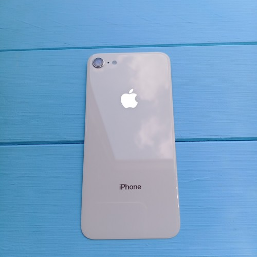 Задняя панель корпуса Apple iPhone 8 Silver