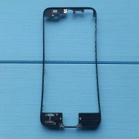 Рамка крепления дисплейного модуля Apple iPhone 5 Black