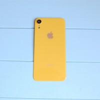 Задняя панель корпуса Apple iPhone XR Yellow