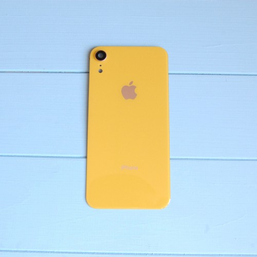 Задняя панель корпуса Apple iPhone XR Yellow