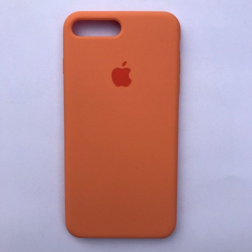 Чехол Silicone Case для Apple iPhone 7 Plus, 8 Plus Papaya